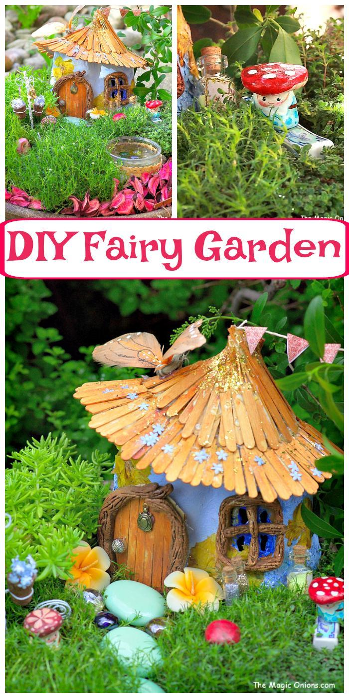 Best Homemade DIY Fairy Garden