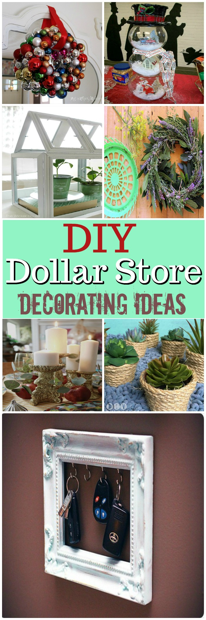Diy dollar store decorating ideas diy home decor - Dollar store home decor ideas pict ...