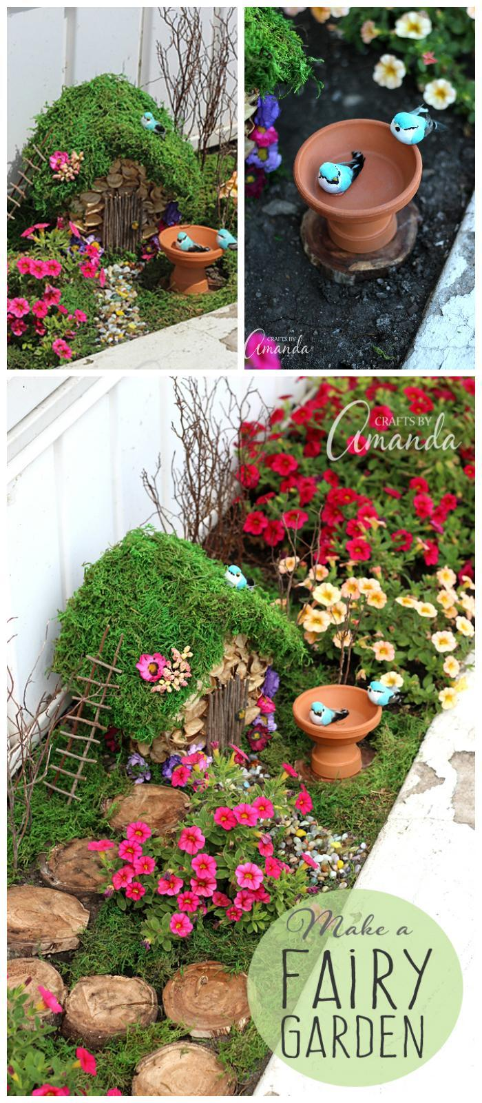DIY Wonderful Fairy Garden