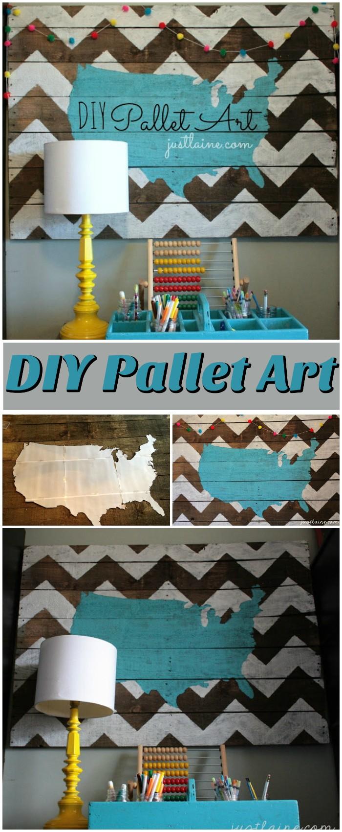 DIY Pallet Art