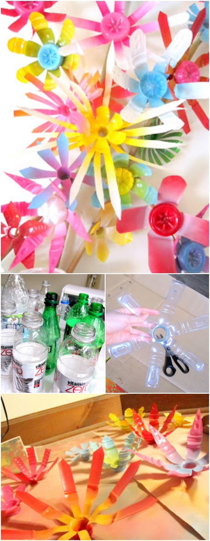 Creative DIY ways to reuse plastic bottles Make Anthropologie Flowers