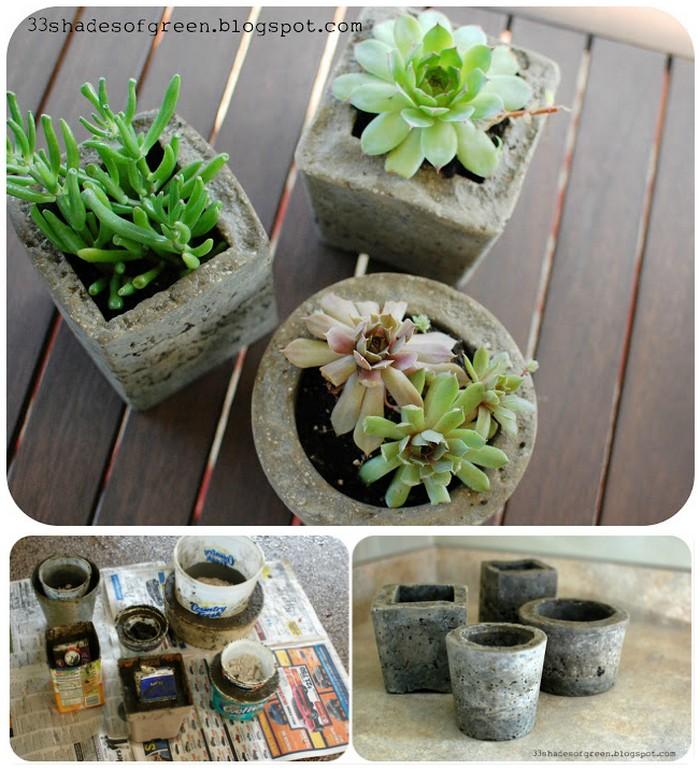 Making Hypertufa Pots 21 Lovely DIY Garden Decor Ideas You Will Love