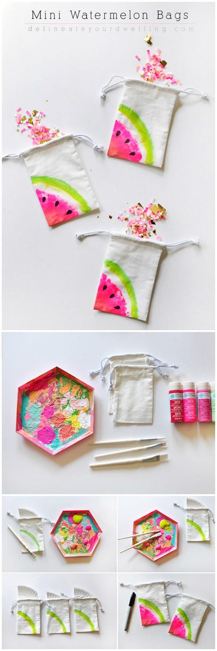 Mini Watermelon Bags