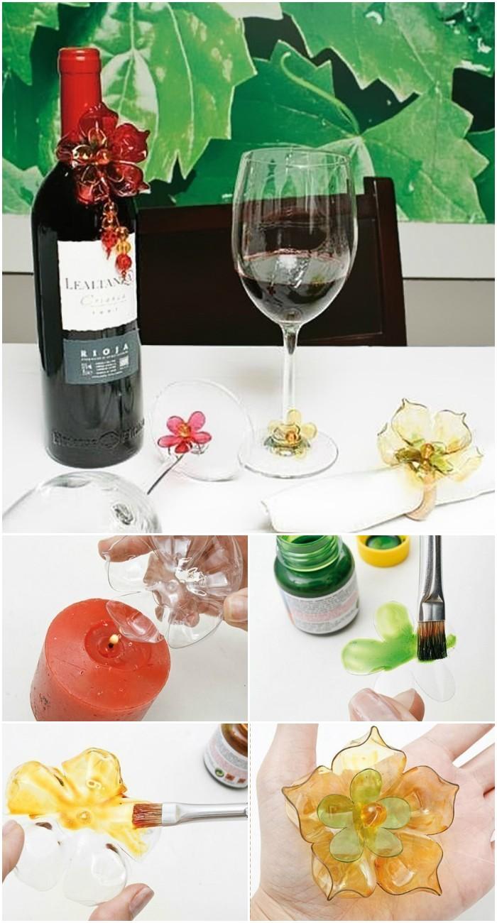 Creative DIY ways to reuse plastic bottles Napkin Ring: