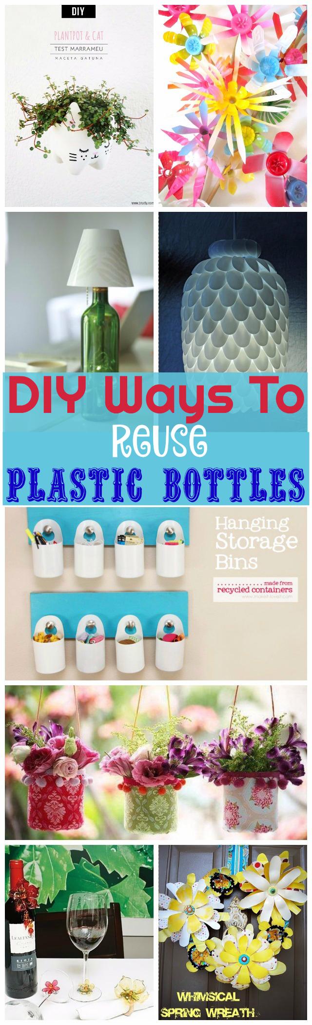 Reuse Plastic Bottles DIY