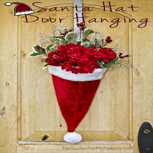 16 budget friendly DIY Christmas door decorations