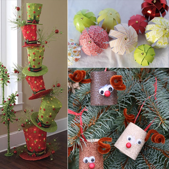 Cheap House Decorations: 17 Cheap And Wonderful DIY Christmas Decorations • DIY