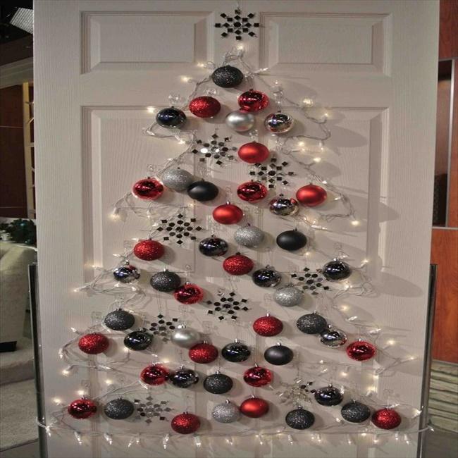 Easy Diy Door X Mas Decoration