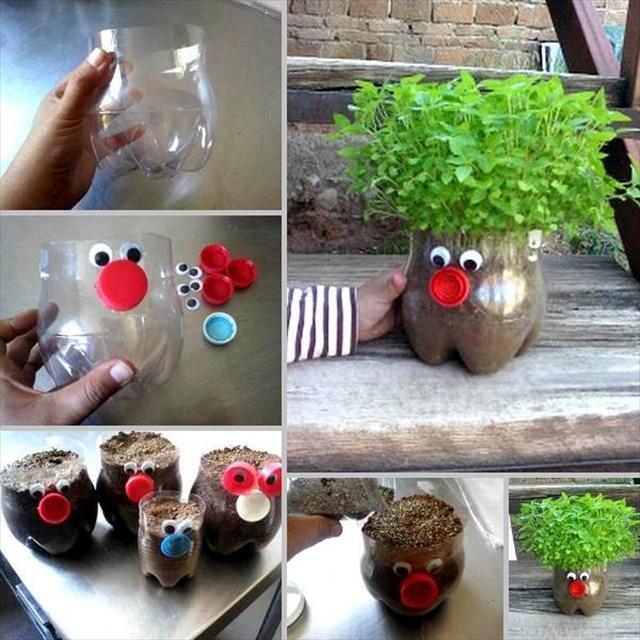 Creative DIY Ways To Reuse Plastic Bottles • DIY Home Decor