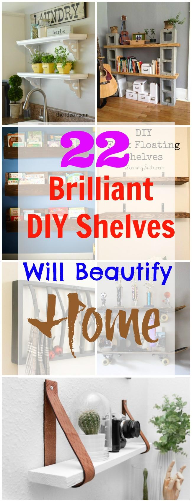 diy shelves | diy shelves bedroom | diy shelves easy | diy shelves floating