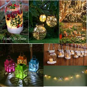 DIY Lighting Ideas For Your Garden And Outdoor