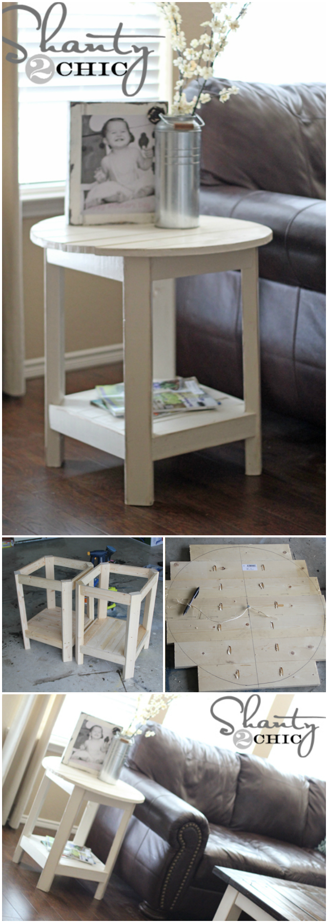Benchright Side Table 15 Cheap And Easy DIY Furniture Ideas For Your Home