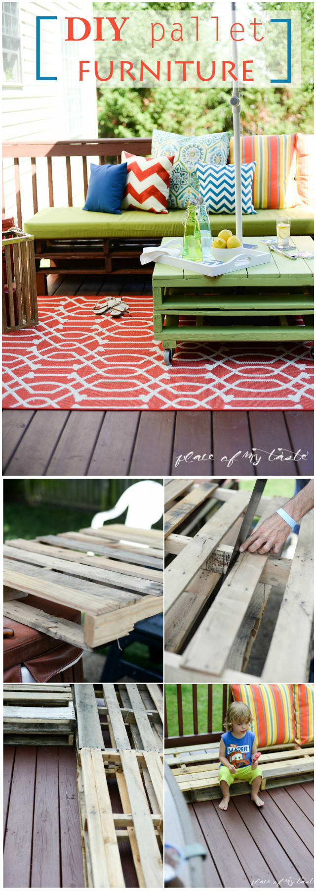 Complete Pallet Furniture Makeover 17 Interesting And Amazing DIY Patio Furniture Ideas