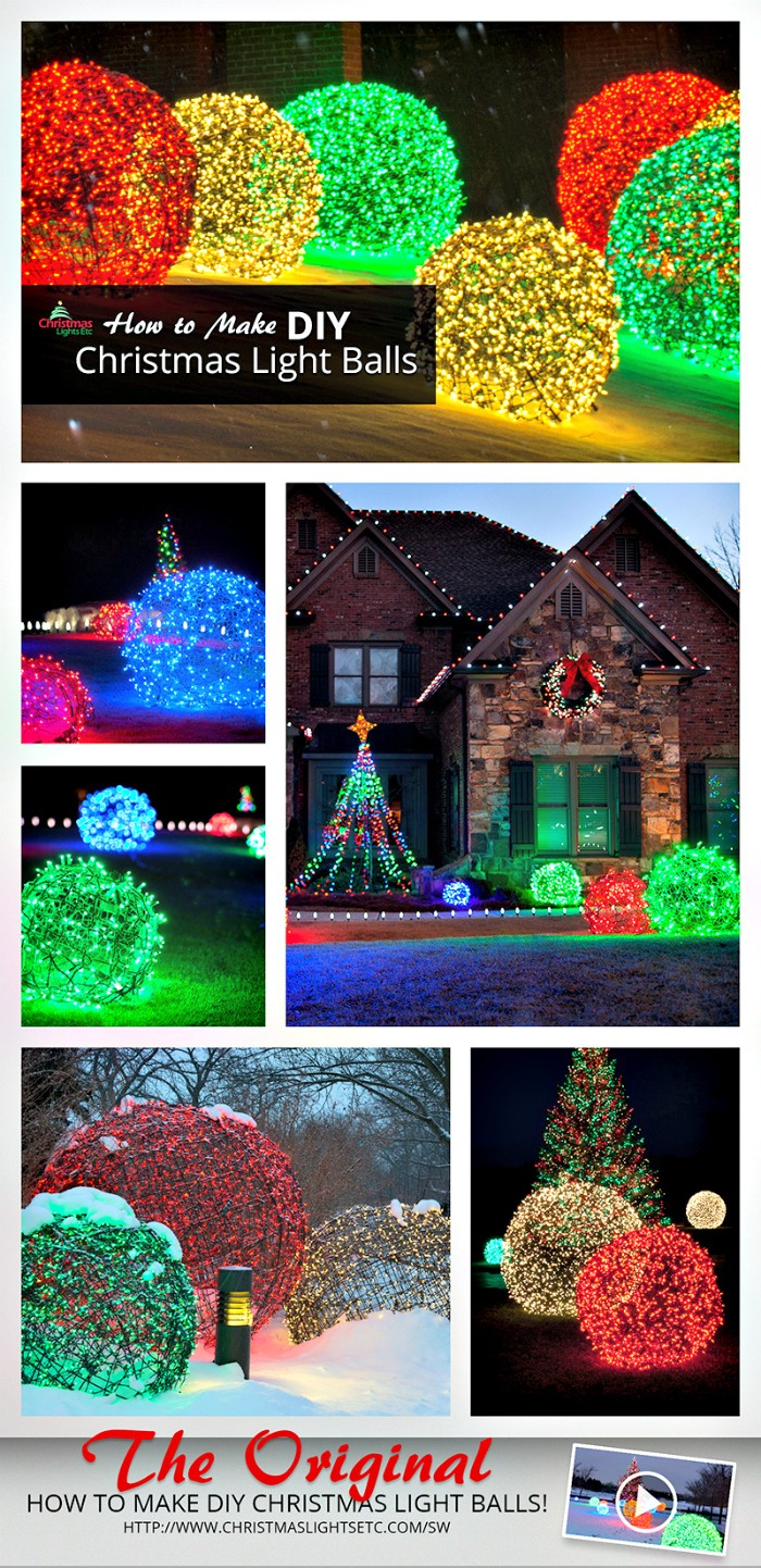 21 cheap diy outdoor christmas decorations diy home decor for Cheap xmas decorations