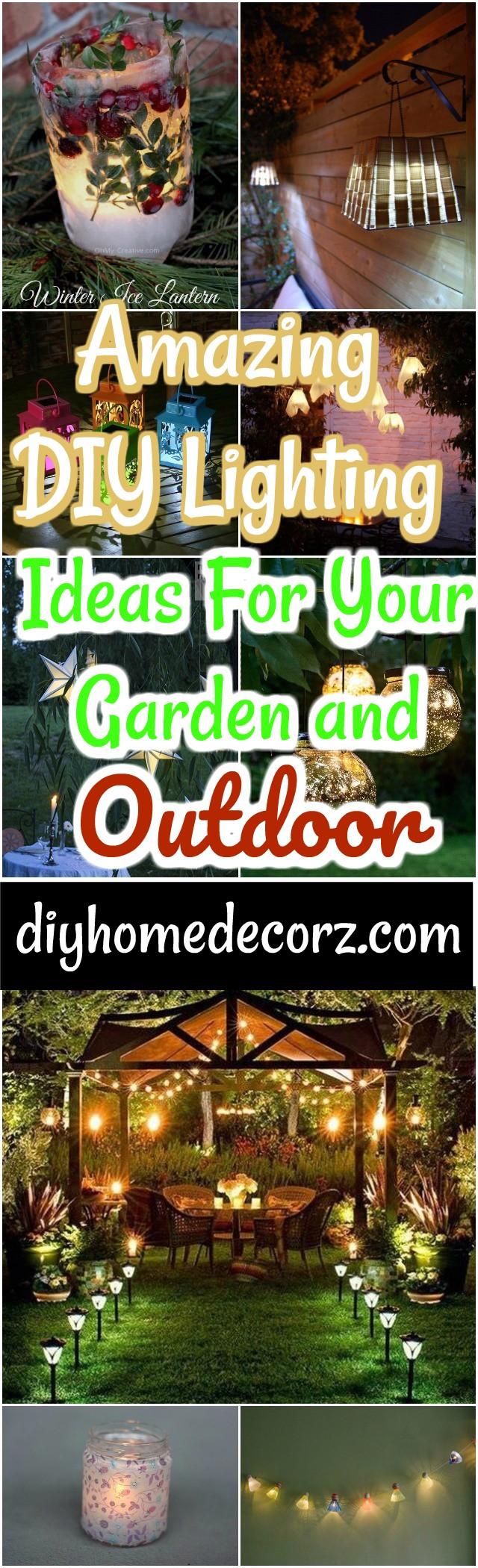 DIY Lighting Ideas -