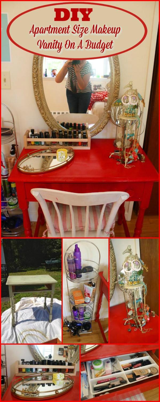 DIY Makeup Vanity Table 15 Amazing DIY Vanity Table Ideas You Must Try