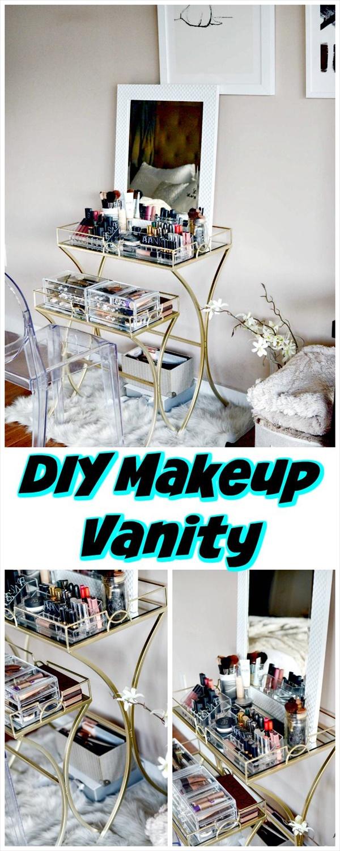 DIY Makeup Vanity Tutorial 15 Amazing DIY Vanity Table Ideas You Must Try