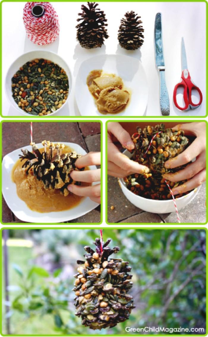 DIY Organic Nuts Seeds Bird Feeder 15 Unique DIY Birdfeeder That Will Attract The Birds