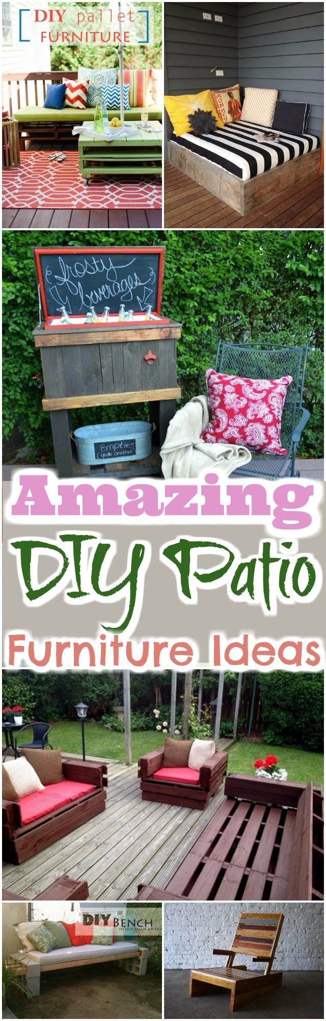 DIY Patio Furniture Ideas 17 Interesting And Amazing DIY Patio Furniture Ideas
