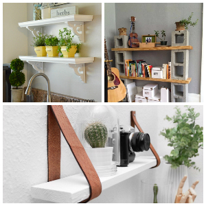 22 Brilliant DIY Shelves Will Beautify Home