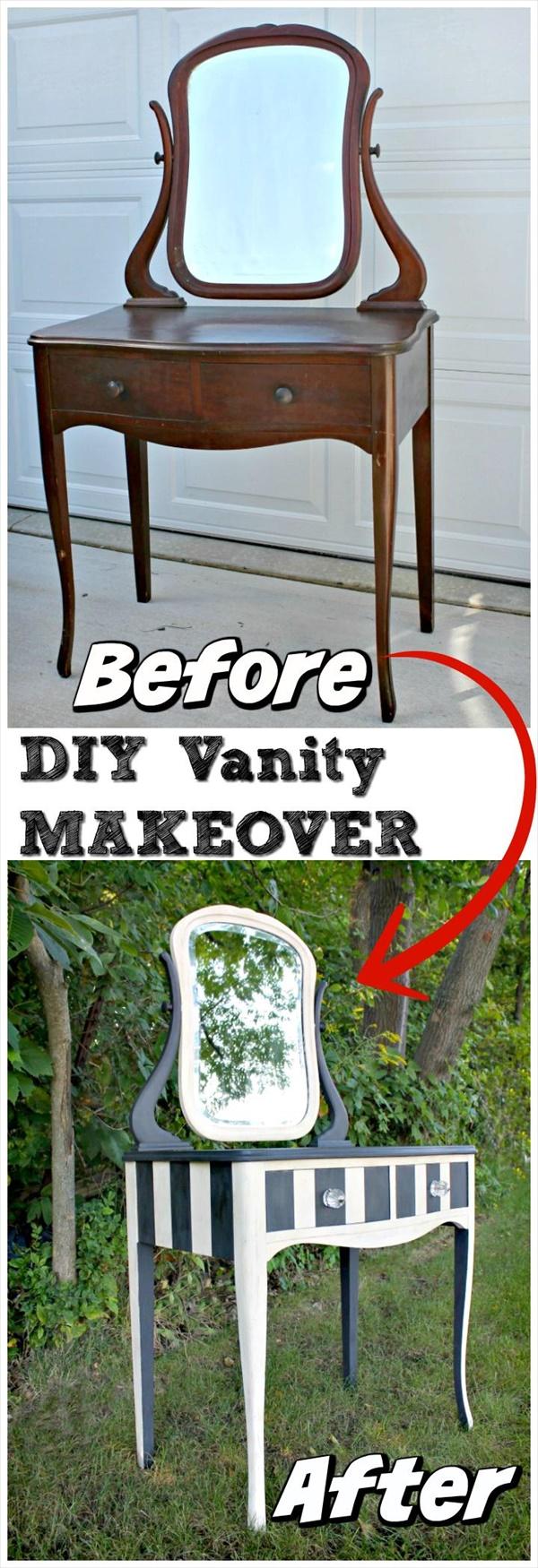 DIY Vanity Makeover Ideas 15 Amazing DIY Vanity Table Ideas You Must Try