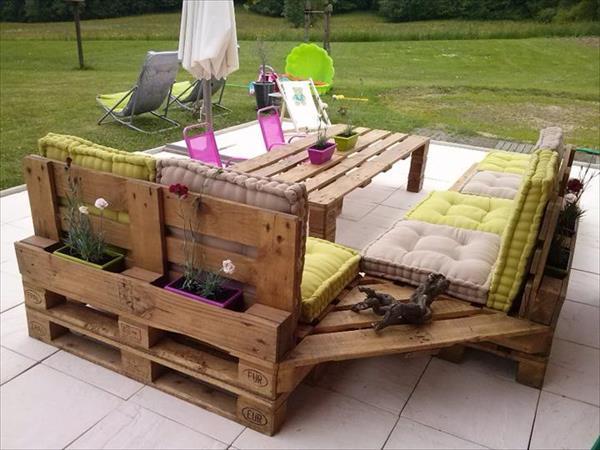 20 Beautiful and cheap DIY garden furniture ideas • DIY Home Decor