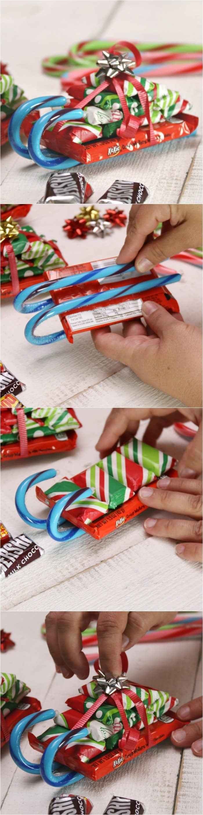 Easy Candy Bars - DIY Christmas crafts