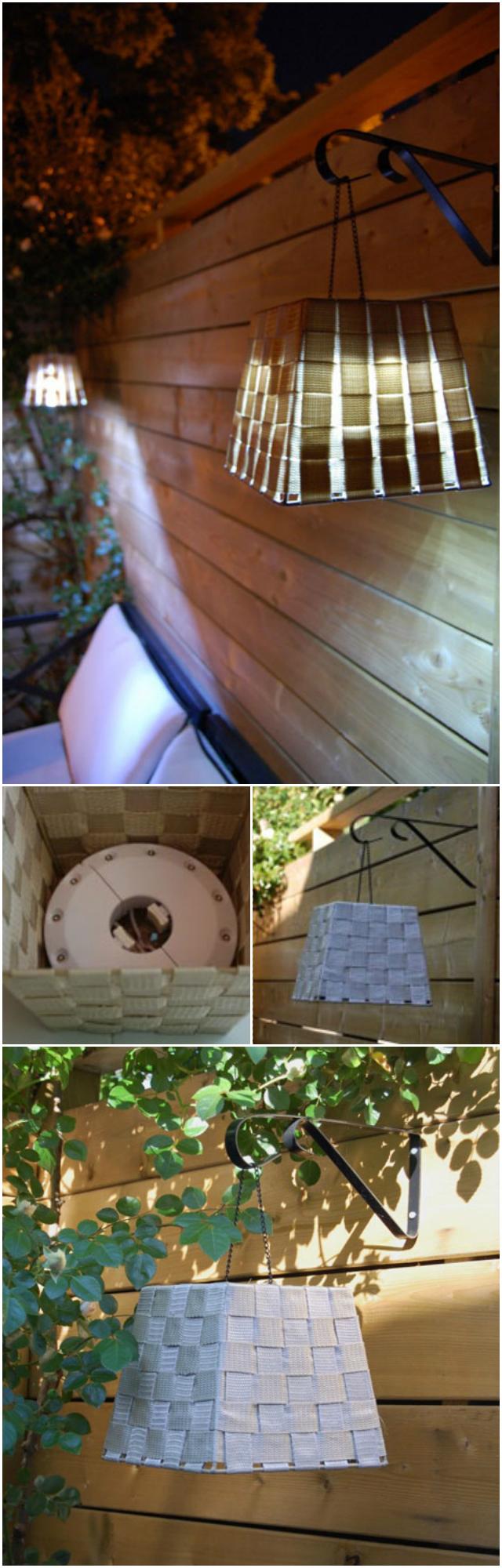 Amazing DIY lighting ideas for your garden and outdoor Fancy Basket Lamp