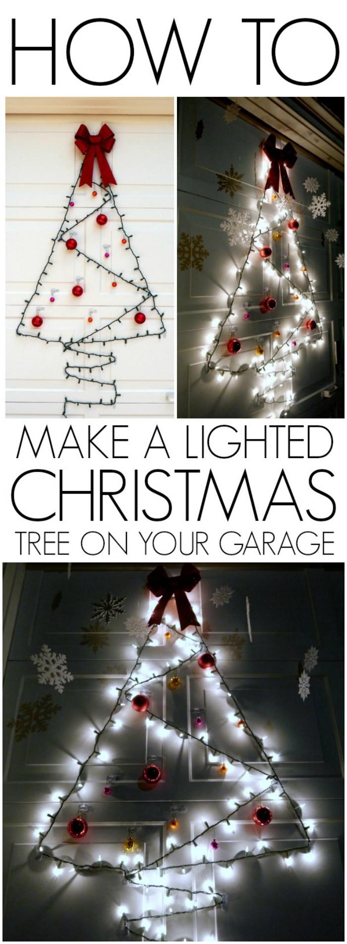 21 Cheap DIY Outdoor Christmas Decorations • DIY Home Decor