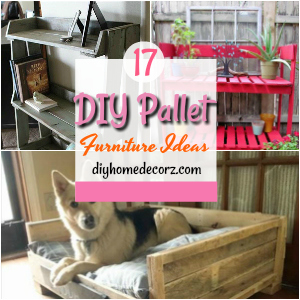 17 DIY Pallet Furniture Ideas to Make Home Creative