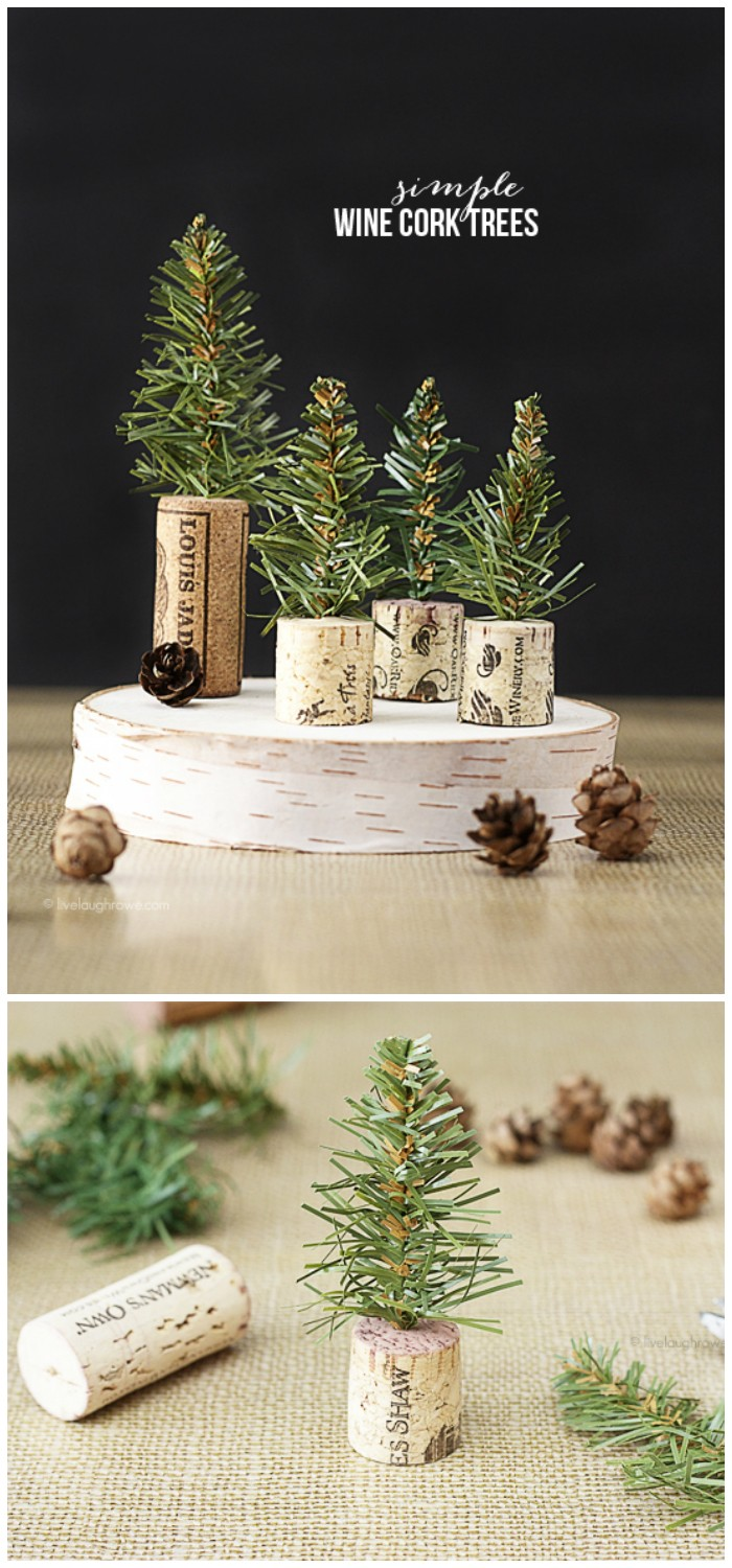 Simple Wine Cork Trees 25 Interesting Ideas to Make Easy Christmas Crafts