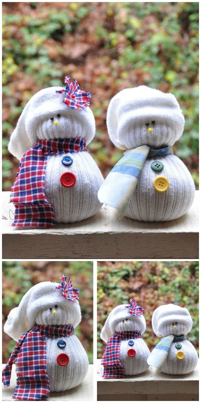 Sock Snowmen 25 Interesting Ideas to Make Easy Christmas Crafts