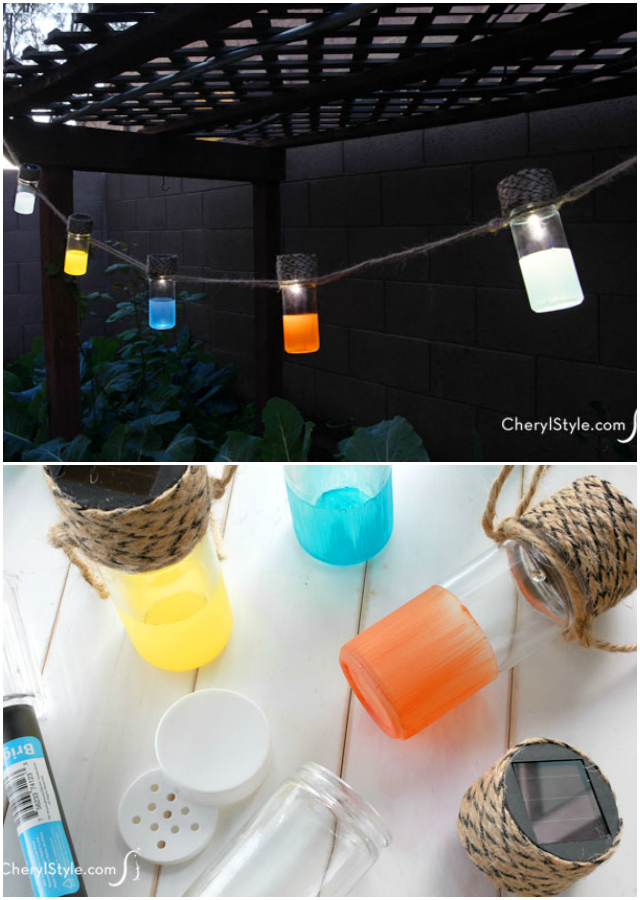 Amazing DIY lighting ideas for your garden and outdoor Solar Lanterns