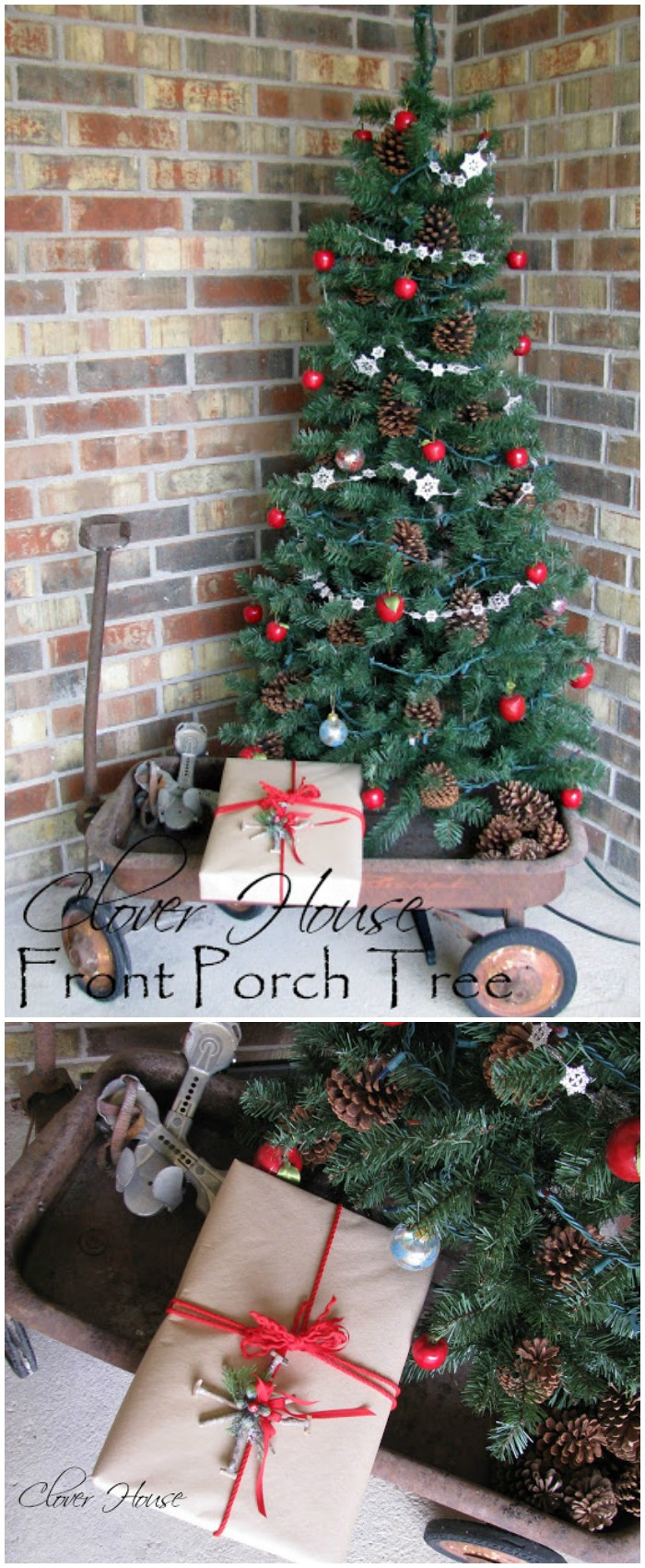 21 cheap diy outdoor christmas decorations diy home decor for Diy christmas decorations for your home