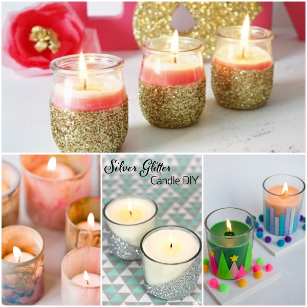 diy candle 13 lovely DIY candle ideas you can make at your own home