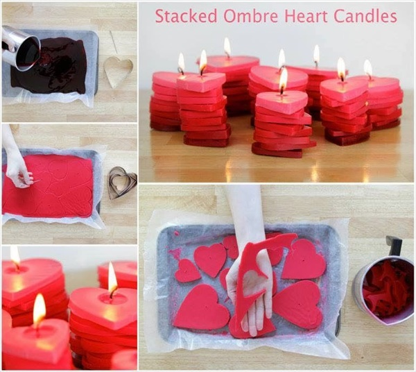 diy candles 2 13 lovely DIY candle ideas you can make at your own home