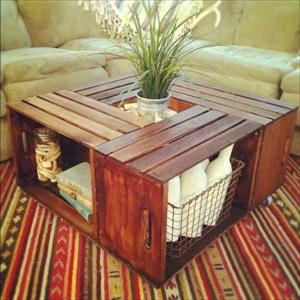 15 Amazing DIY Coffee Tables