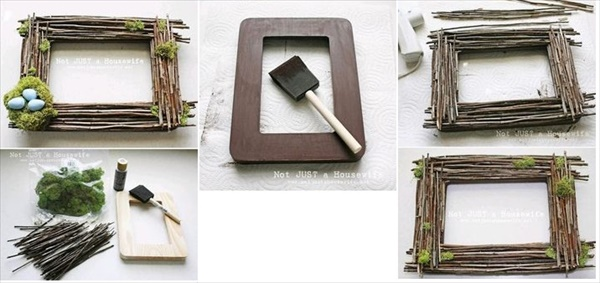 15 interesting DIY picture frame ideas everyone can make • DIY Home ...
