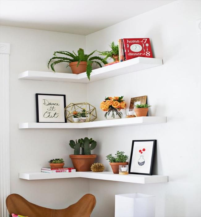 22 Brilliant Diy Shelves Will Beautify Home Diy Home Decor