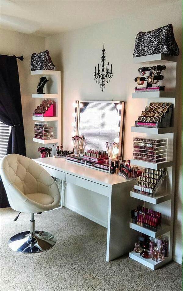 diy vanity table ideas 8 15 Amazing DIY Vanity Table Ideas You Must Try