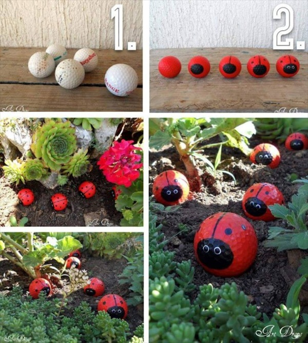 garden crafts 4 How to make beautiful DIY garden crafts without breaking bank