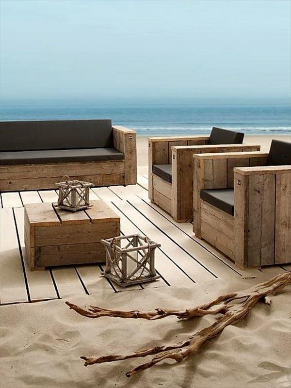 DIY pallet furniture ideas 7