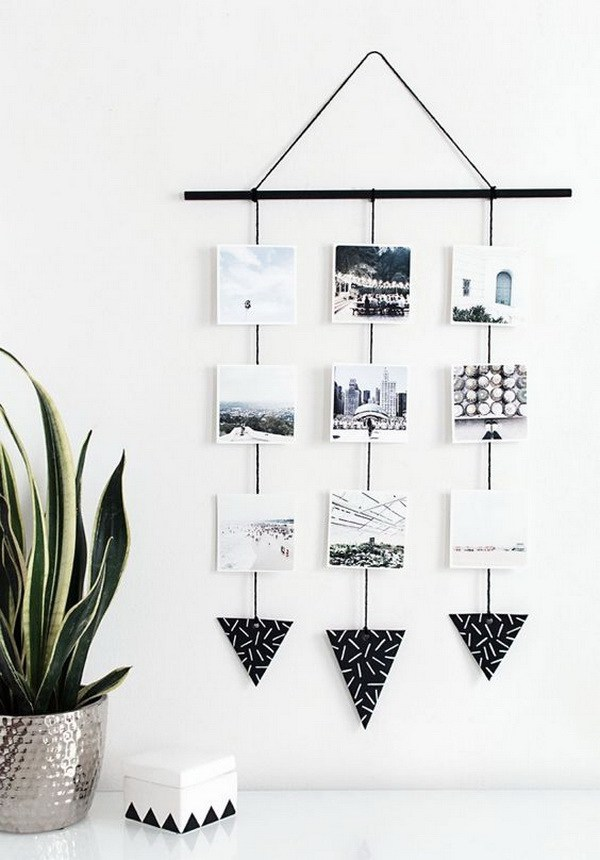9 diy photo crafts Attractive handmade photo craft ideas to display your photo collection
