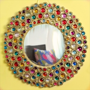 15 cool and lovely DIY mirror decorating projects you will love