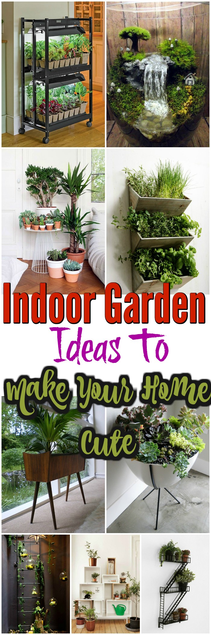 Indoor Garden Ideas 15 Indoor Garden Ideas To Make Your Home Cute