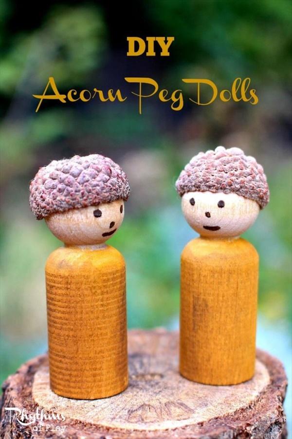 acorn craft 12 17 Interesting acorn craft ideas that will really amaze you