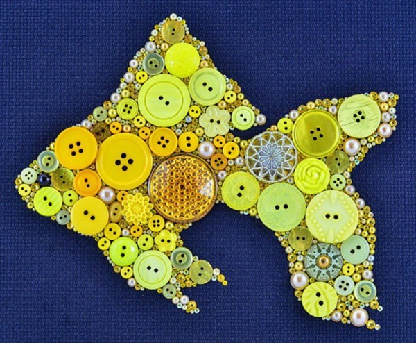 button crafts6 15 interesting button crafts ideas that will beautify your home