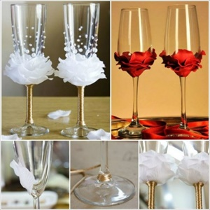 15 lovely DIY decorated glass ideas you must see