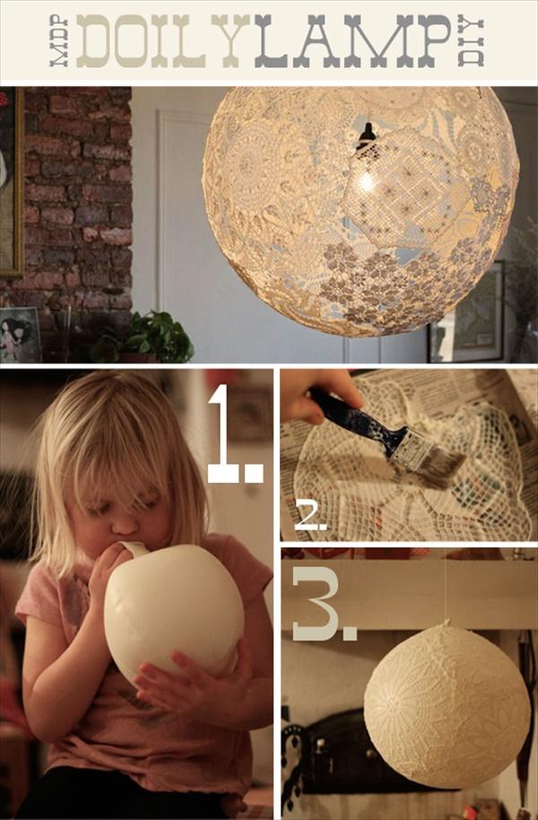 diy lamp 9 15 creative DIY lamp ideas you can make under your budget