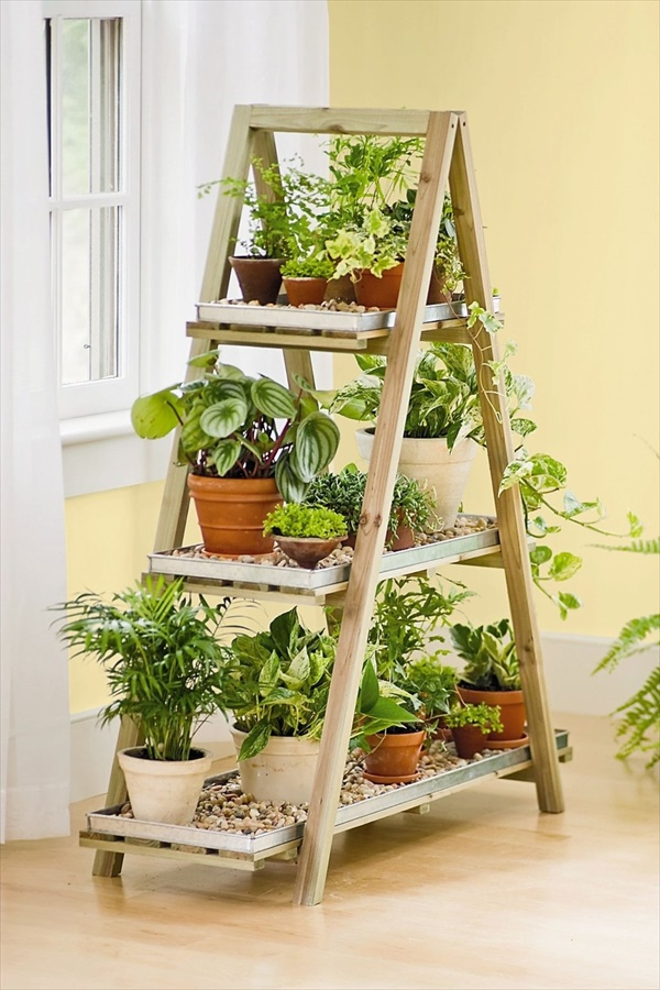 diy plant stand 1 13 modern and lovely DIY plant stand ideas for your dream land